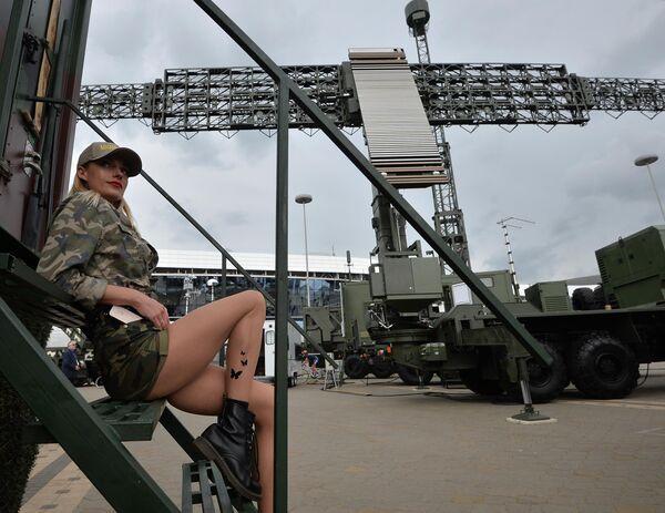 Участница международной выставки вооружения и военной техники MILEX-2019 в Минске