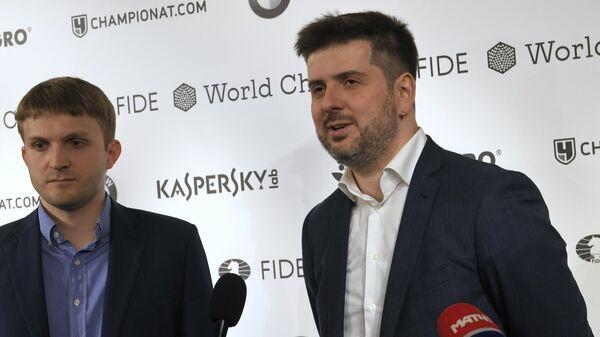 Никита Витюгов (слева) и Пётр Свидлер