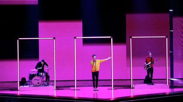 Певец Лейк Малави (Чехия) в финале международного конкурса Евровидение-2019