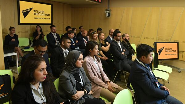 Участники проекта SputnikPro для молодых журналистов дальнего зарубежья