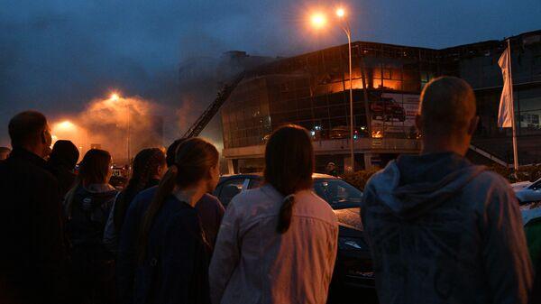 Пожар в автоцентре Hyundai в Кемерове. 20 мая 2019