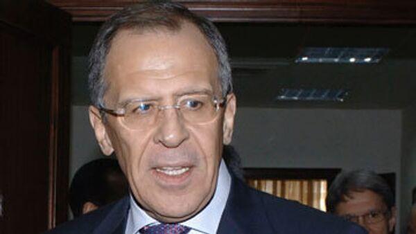 Министр иностранных дел России Сергей Лавров в четверг отправляется в Кишинев (Молдавия) для участия в Совете глав МИД СНГ.