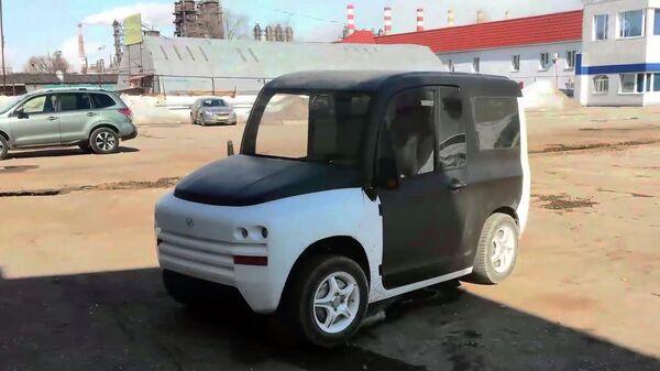 Прототип для дорожных тестов двигателей электромобиля Zetta