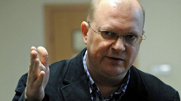 Журналист Леонид Свиридов
