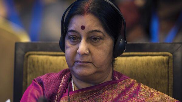 Бывшая глава МИД Индии Сушма Сварадж