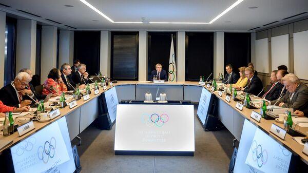Заседание МОК по вопросам исключения бокса из программа Олимпийских игр 2020 года