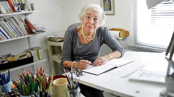 Британская детская писательница и иллюстратор Джудит Керр