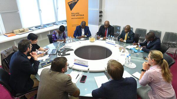 Международное информационное агентство и радио Sputnik заключило соглашение о сотрудничестве с Конголезской национальной телерадиовещательной корпорацией (КНТК)