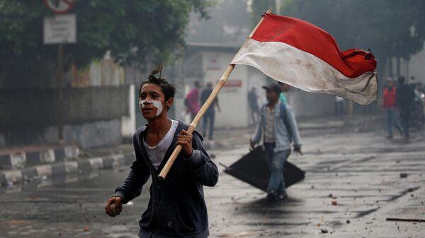 Протесты в Джакарте, Индонезия