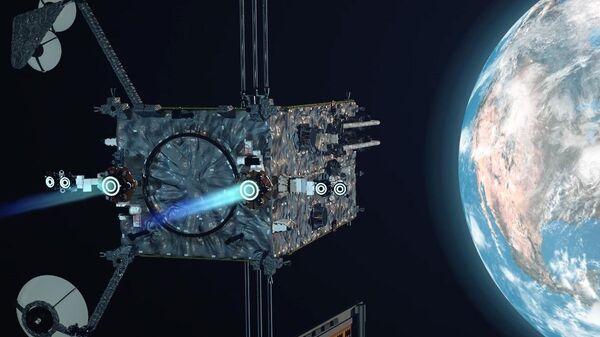 Лунный модуль PPE в представлении художника