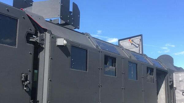 Двухмодульный бронеавтомобиль для спецназа Горец-ССН