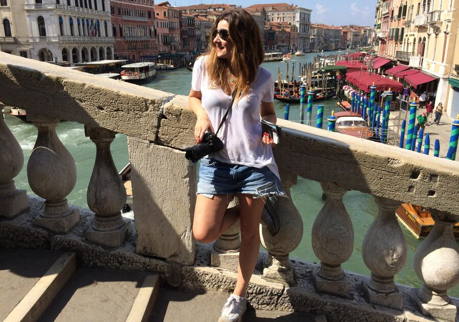 Жанна Бадоева в Венеции