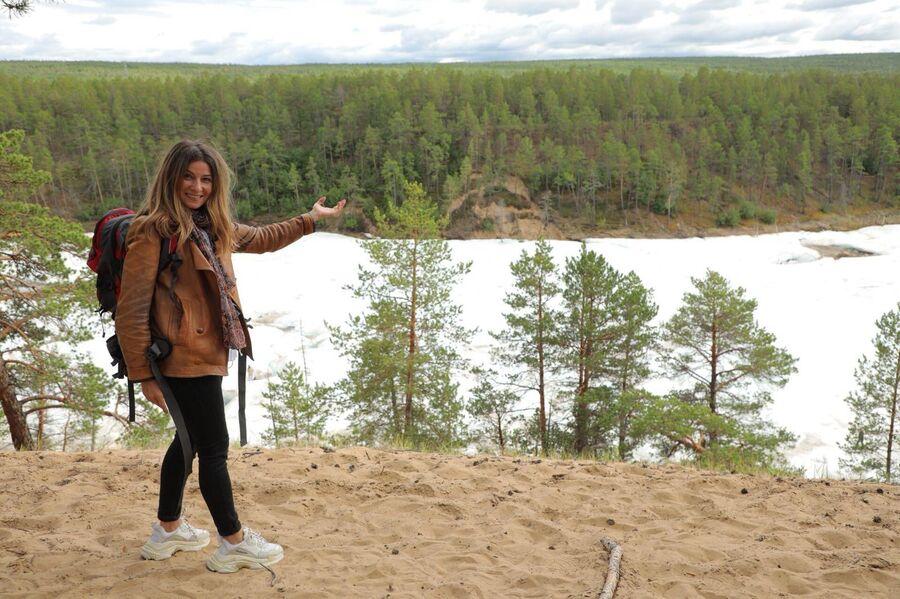 Река подо льдом в Якутии