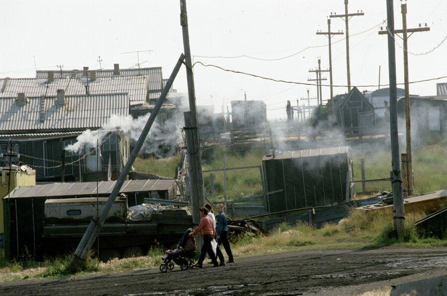 Поселок оленеводов Канчалан
