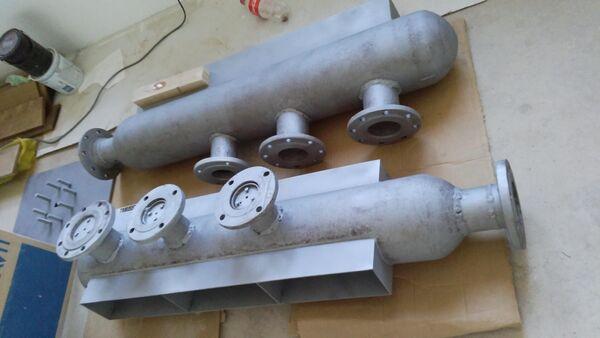 Процесс изготовления светильника из газовых баллонов