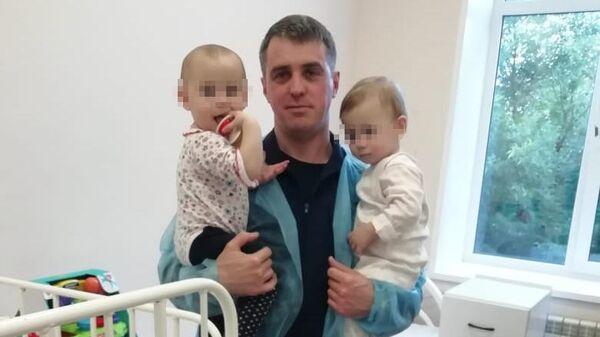 Дети, оставленные женщиной в хостеле в московском районе Котельники