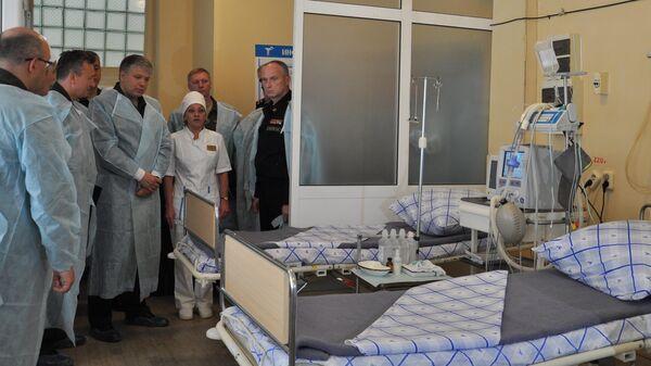 Главный военный медик Дмитрий Тришкин на сборах руководителей военно-лечебных организаций Минобороны России в Самаре. 30 мая 2019
