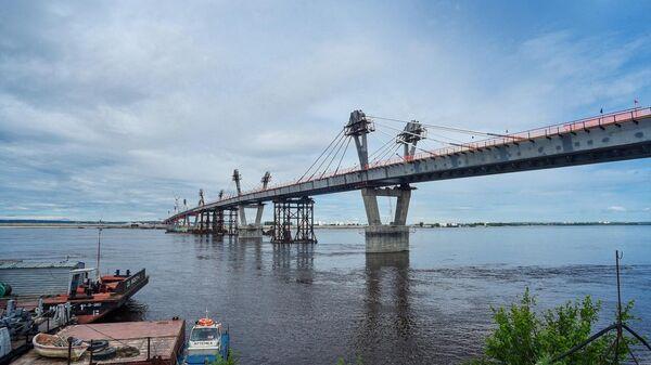 Стыковка международного моста Благовещенск - Хэйхэ. 31 мая 2019