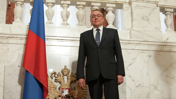 Посол России в Австрии Дмитрий Любинский. Архивное фото