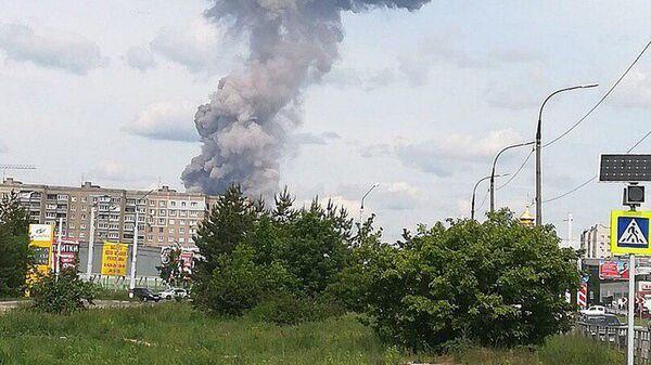 Взрыв на оборонном заводе Кристал в Дзежинске. 1 июня 2019