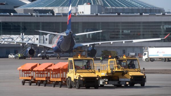В аэропорту Шереметьево в Москве