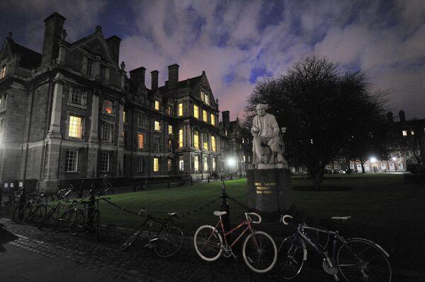 Здание Тринити-колледжа в Дублине