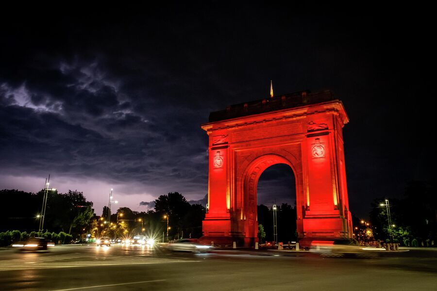 Триумфальная арка в Бухаресте