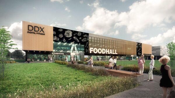 Проект торгового центра рядом с метро Жулебино в Москве
