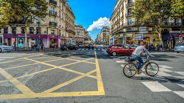Велосипедная прогулка в Париже