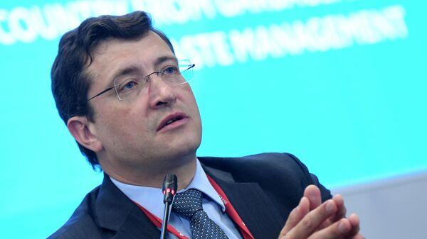 Губернатор Нижегородской области Глеб Никитин на Петербургском международном экономическом форуме-2019