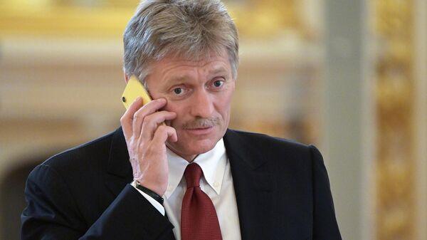 Заместитель руководителя администрации президента – пресс-секретарь президента РФ Дмитрий Песков