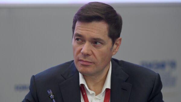 Председатель совета директоров ПАО Северсталь Алексей Мордашов на сессии Российская экономика в поисках стимулов роста