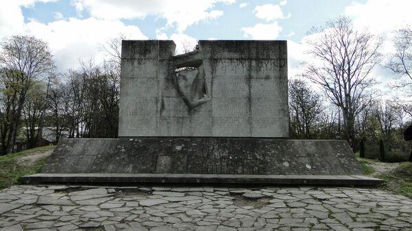 Мемориал жертвам фашизма в Курессааре, Эстония