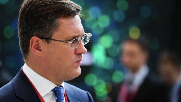 Министр энергетики РФ Александр Новак на Петербургском международном экономическом форуме 2019