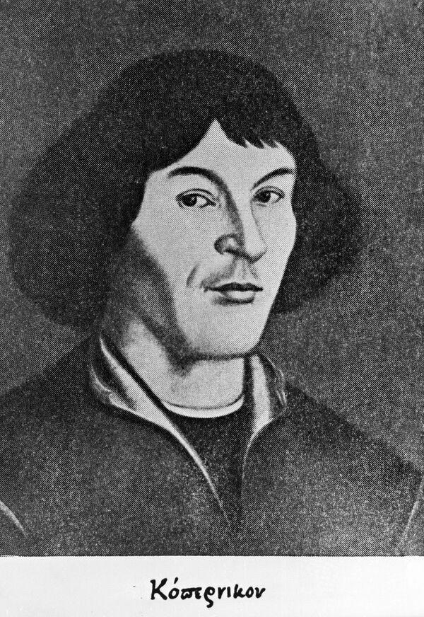Репродукция портрета Николая Коперника