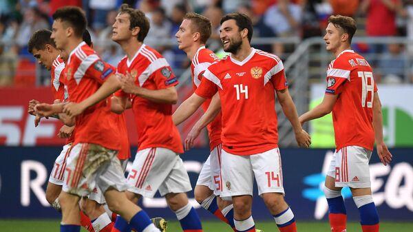 Футбол. Отборочный ЧЕ-2020. Матч Россия - Сан-Марино