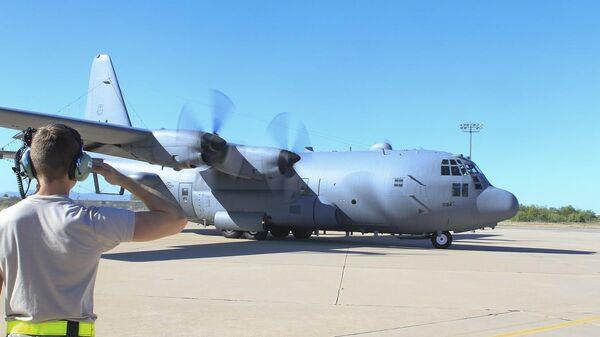 Самолет ВВС США EC-130H Compass Call