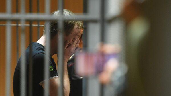 Журналист Иван Голунов в суде