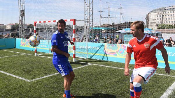 Робер Пирес и Дмитрий Сычёв (слева направо)