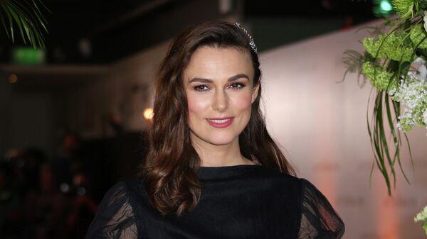 Актриса Кира Найтли на премьере фильма Последствия в Лондоне