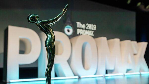 Статуэтка премии в области промо, маркетинга и дизайна Promax Awards 2019