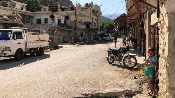 Улица поселения Бейт-Джинн