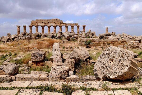 Древний город Селинунт