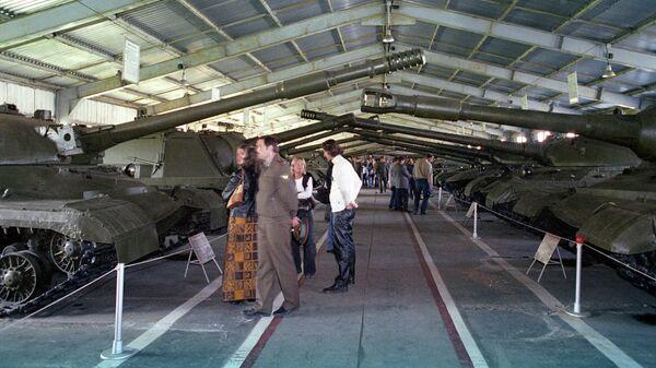Военно-исторический музей бронетанковой техники. Выставочный зал