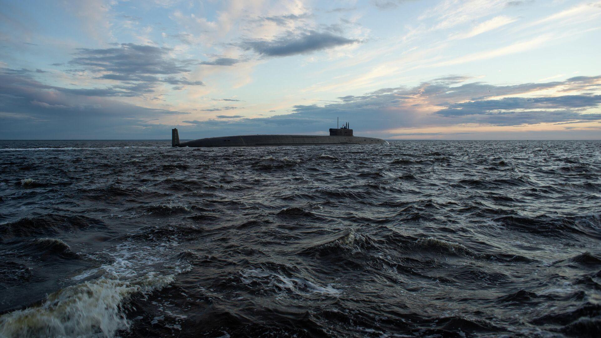 Атомная подводная лодка стратегического назначения Князь Владимир проекта 955А - РИА Новости, 1920, 30.05.2021