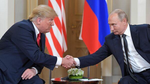 Кремль: Переговоры В.Путина  иТрампа могут состояться вконце июня