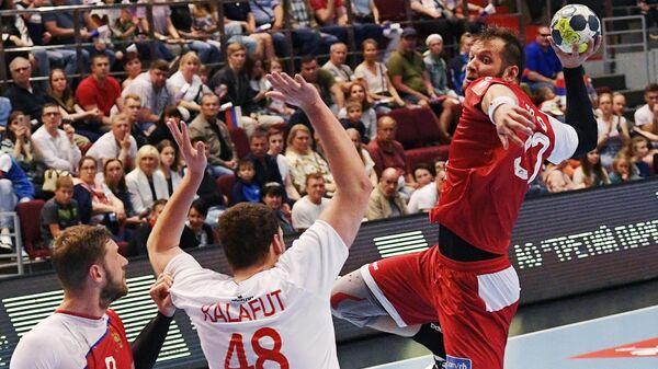 Гандбол. Мужчины. Отборочный матч ЧЕ-2020. Россия - Словакия