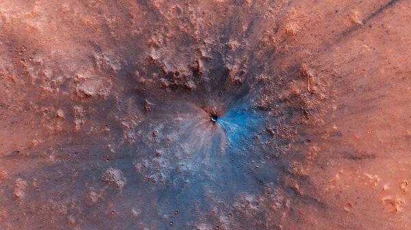 На Марсе обнаружили след от мощного взрыва