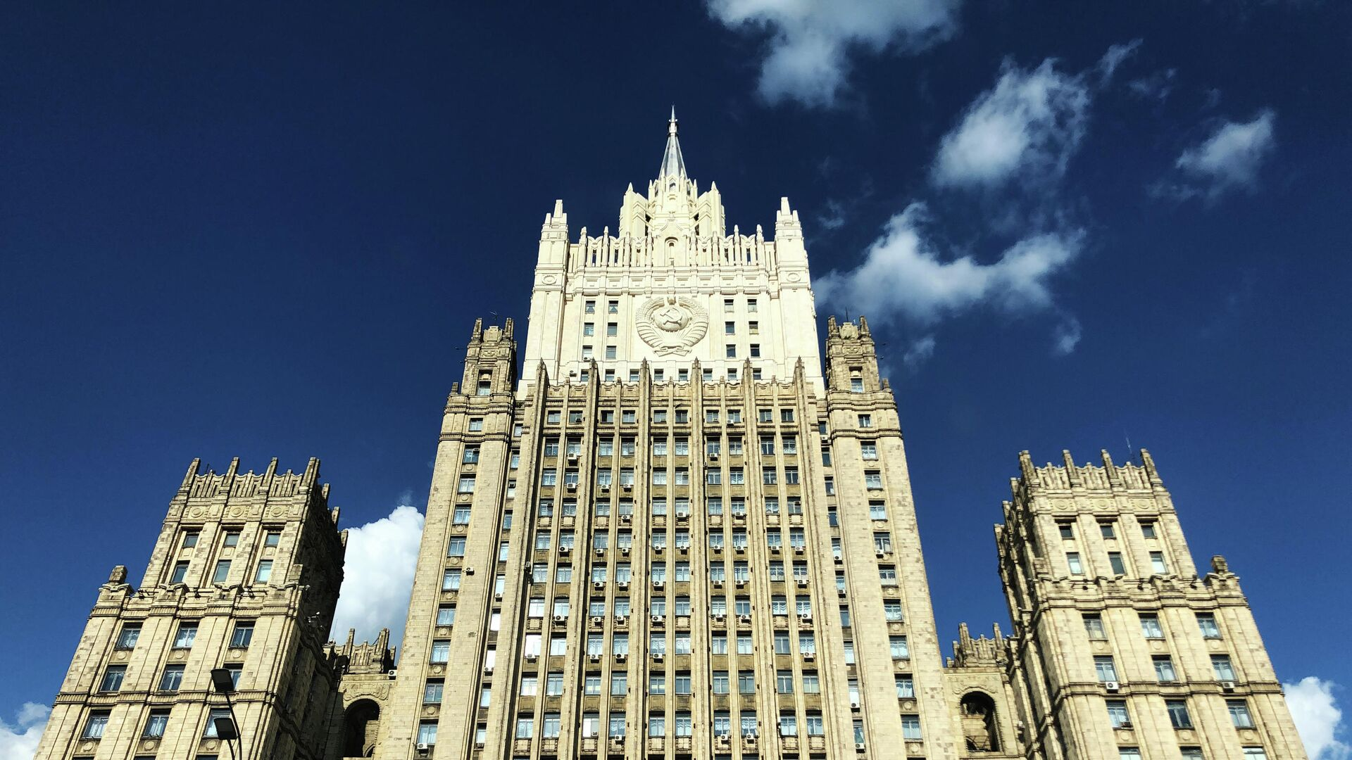 Здание Министерства иностранных дел РФ - РИА Новости, 1920, 30.09.2020