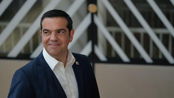 Бывший премьер-министр Греции Алексис Ципрас